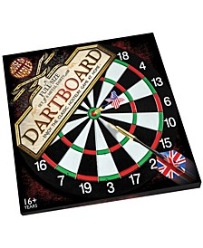 Full Size Dartboard and Darts Set