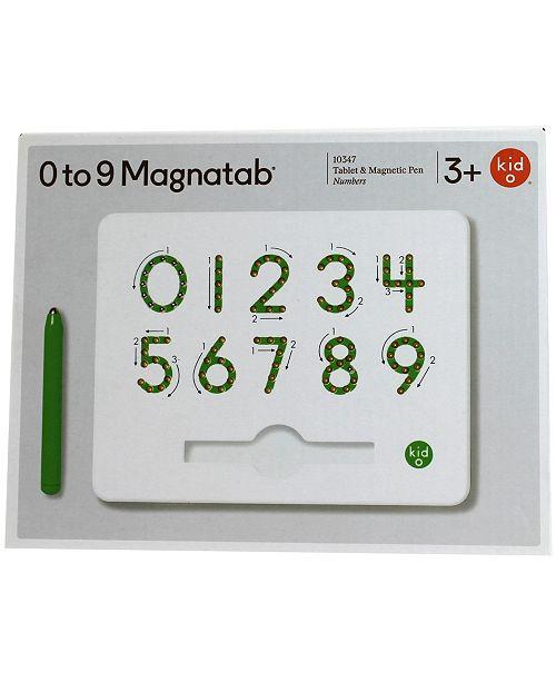 Kid O 0 To 9 Number Magnatab
