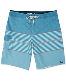 "Men's All Day Pro 4-Way Stretch Heather Stripe 20"" Board Shorts"