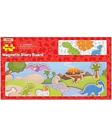 Wooden Magnetic Story Board - Dinosaur