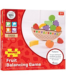 Wooden Fruit Balancing Game