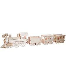 Train Wooden Puzzle