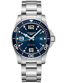 Men's Swiss Automatic HydroConquest Stainless Steel Bracelet Watch 41mm, USA Exclusive Edition