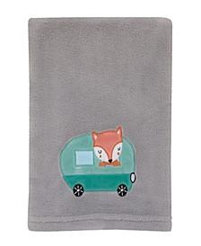 Retro Camper Baby Blanket