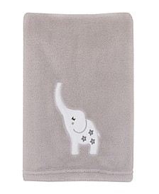 Dream Big Little Elephant Baby Blanket