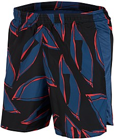 """Men's Challenger Printed Dri-FIT Lined 7"""" Running Shorts"""
