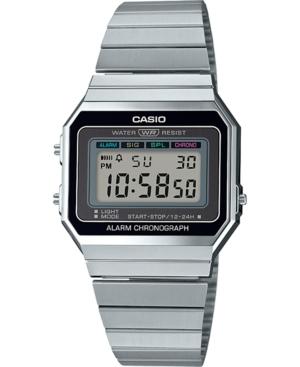 Unisex Digital Stainless Steel Bracelet Watch 35.5mm