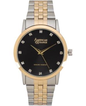 Men's Genuine Diamond Collection Bracelet Watch