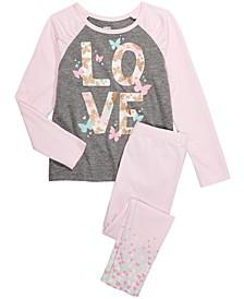 Toddler & Little Girls Love T-Shirt & Confetti Leggings, Created For Macy's