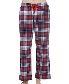Cotton Plaid Flannel Pajama Pants