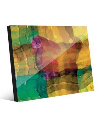 Quadretto Scozesein Yellow Abstract 20