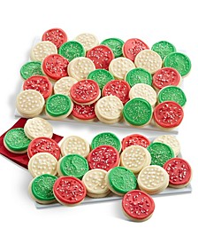 Holiday Frosted Cut-Out Cookies - 48ct