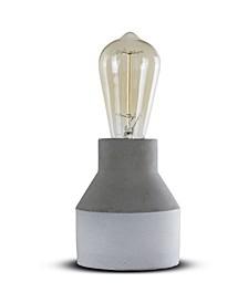 American Art Decor Modern Stylish Concrete Cement Accent Table Lamp