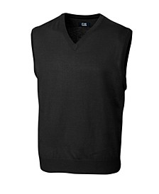 Cutter and Buck Men's Big and Tall Douglas V-Neck Sweater Vest