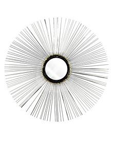 American Art Decor Sunburst Starburst Wire Mirror