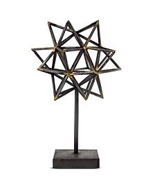 American Art Decor Star Figurine on Stand Table Top Sculpture Decor