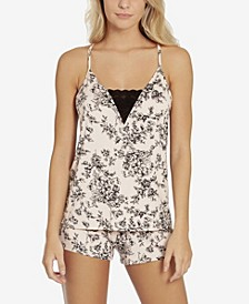 Toile Buds Camisole and Short Set