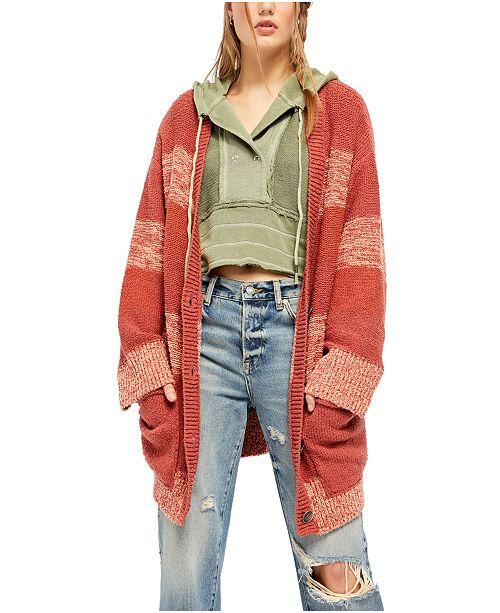 Free People Southport Beach Cardigan Sweater