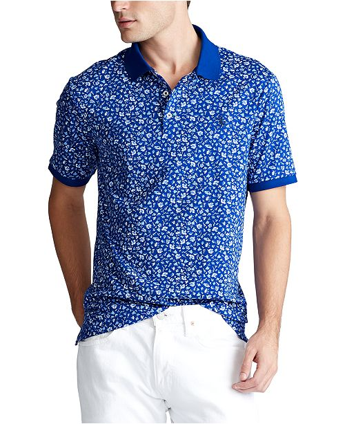 Polo Ralph Lauren Men's Big & Tall Classic Fit Interlock Polo