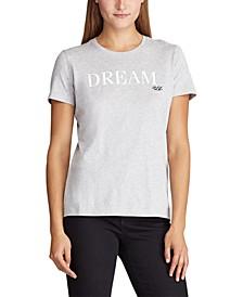 Petite Jersey Graphic T-Shirt
