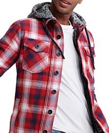 Men's Everest Storm Hooded Plaid Shirt