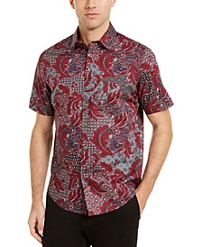 Men's Multi-Pattern Shirt, Created For Macy's