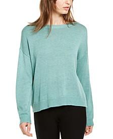 Round-Neck Sweater, Regular & Petite
