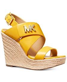 Sidney Wedge Sandals