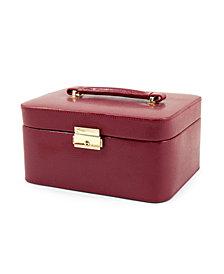 Bey-Berk Lizard Genuine leather Jewelry Box