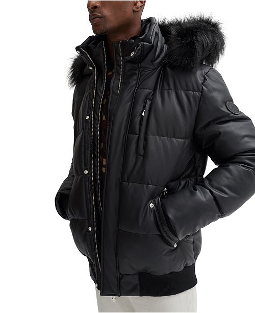 NOIZE Men's Nixon-X Hooded Puffer Jacket