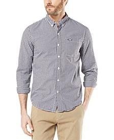 Men's Slim-Fit Supreme Flex Poplin Stretch Alpha Icon Shirt