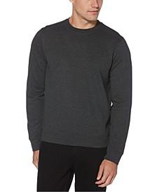 Men's Ottoman Rib Knit Long Sleeve T-Shirt