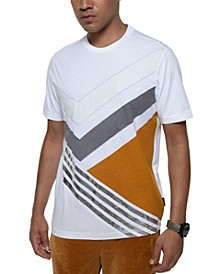 Men's Pieced Geometric T-Shirt