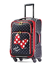 "Disney by Minnie Mouse Red Bow 21"" Carry-On Spinner"