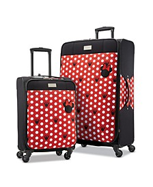 Disney by Minnie Mouse Dots Softside Luggage Collection