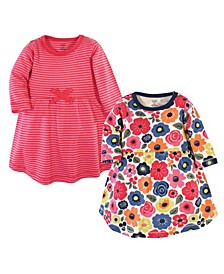 Baby Girl Long Sleeve Organic Dress 2-Pack
