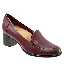 Quincy Slip On Heel Pumps