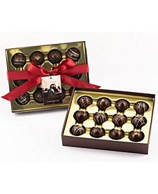 12 Piece Dark Lovers Truffle Box