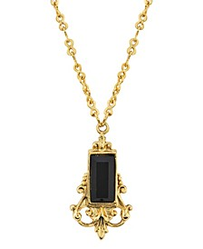 14K Gold Dipped Pendant Necklace