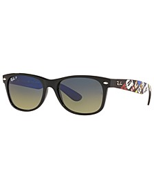 x Disney Polarized Sunglasses, RB2132 55 NEW WAYFARER