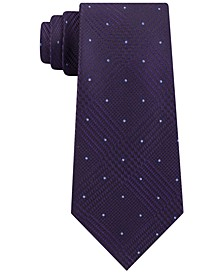 Michel Kors Men's Classic Glen Check Dot Tie
