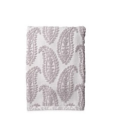 Textured Paisley Bath Towel