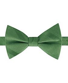 Men's Textured Stripe Pre-Tied Silk Bow Tie