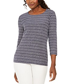 Printed Embellished Top, Created for Macy's
