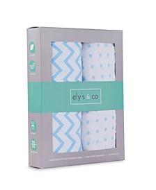 Cotton Jersey Bassinet Sheet Set 2 Pack