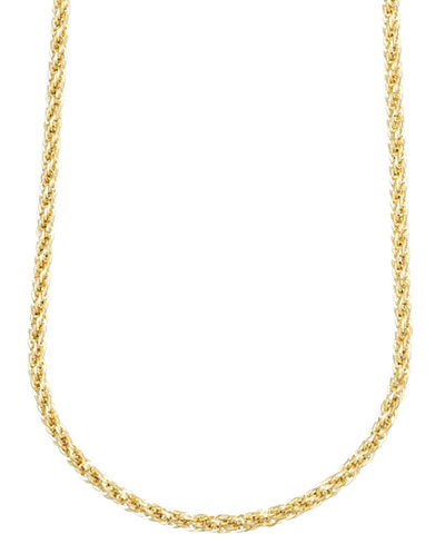 14k Gold Necklace, 24