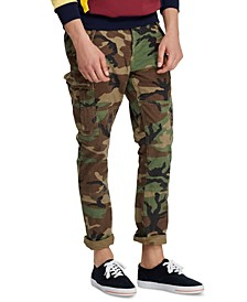 Men's Big & Tall Cotton Canvas Cargo Pants