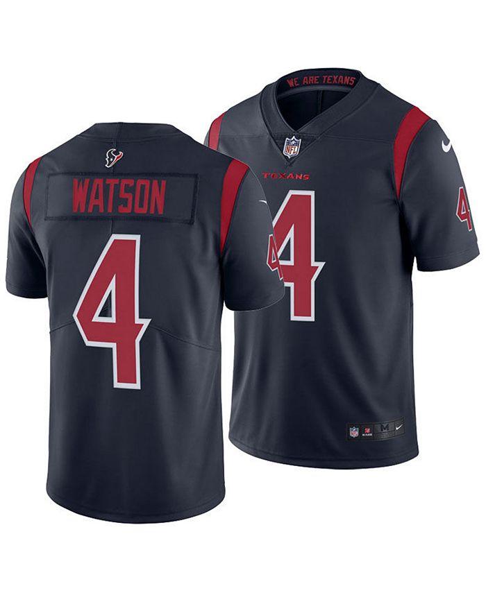 Nike Men's DeShaun Watson Houston Texans Limited Color Rush Jersey ...