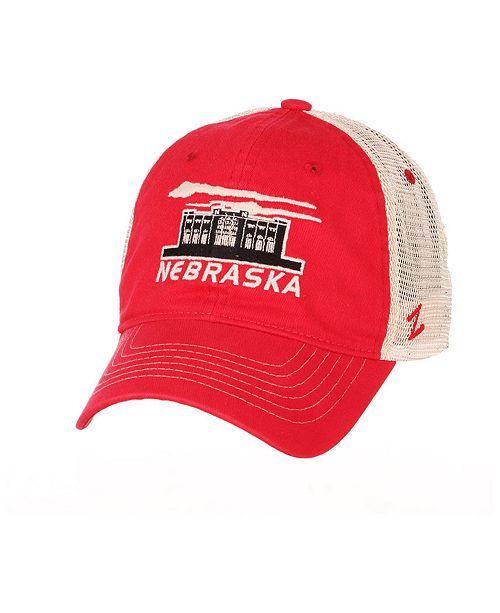 Zephyr Nebraska Cornhuskers Destination Mesh Snapback Cap