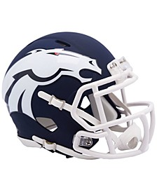 Denver Broncos Speed AMP Alt Mini Helmet